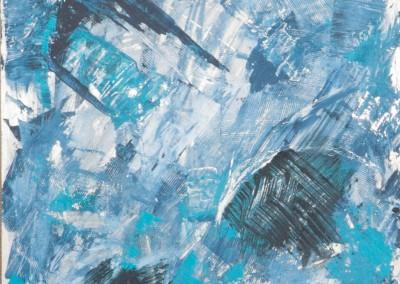 34/12 Eiskristalle auf Alucobond